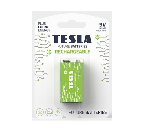 Baterii Tesla 9V RECHARGEABLE+250 mAh