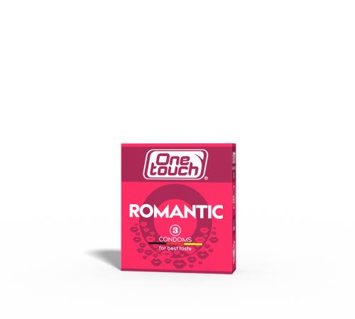 Презервативы One Touch Romantic N3 (aromatizate)