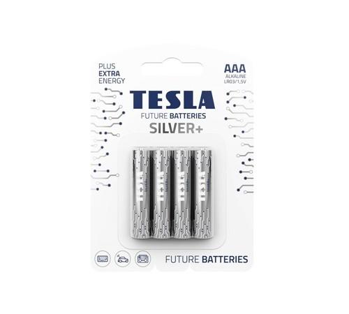 Baterii Tesla АAA SILVER+ №4