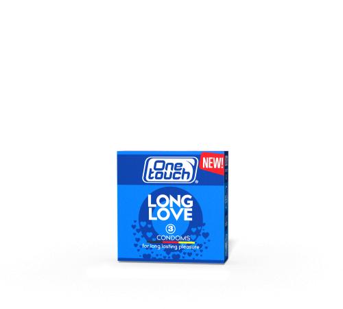 Презервативы One Touch Long Love N3 (anestezic)
